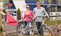 Bicycles on river cruises