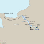 Avalon Waterways Seine River Cruise Itinerary