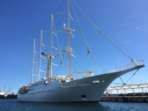 WindStar WindSpirit in Tahiti