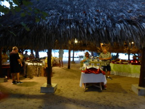 Windstar presented fresh local Tahitian foods