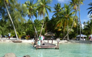 Windstar beach day at Motu Mahaea