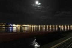 Moon over Bordeaux