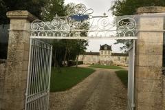 Entrance to Chateau de Myrat