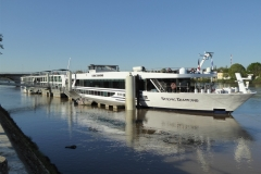 Scenic Diamond docked in Bordeaux