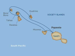 Dreams of Tahiti itinerary