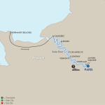 Avalon Waterways Seine River Cruise Itinerary