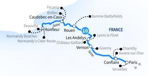 Scenic Cruises Seine River Cruise
