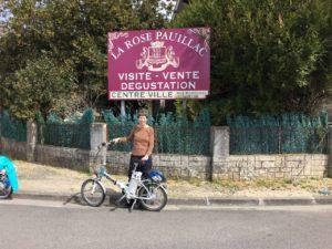 Bike riding in Pauilliac