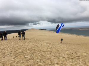 Paraglider at Dune du Pilat