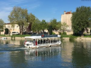 Hennessy Ferry in the town of Cognac