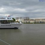 Scenic Diamond docked in Bourg France