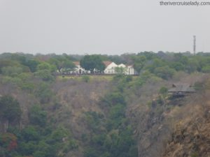Victoria Falls Hotel From Bridge