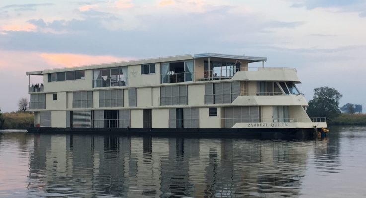 Zambezi Queen on the Chobe River Botswana