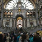 Antwerp Train Station Inside
