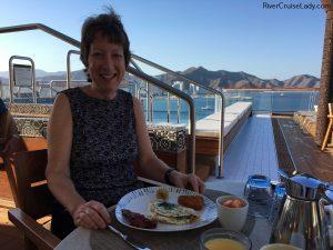 Viking Sea Outdoor Restaurant