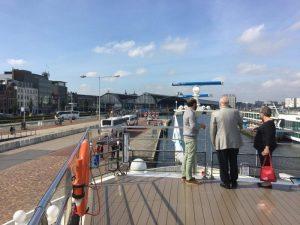 Crystal Mahler docked in Amsterdam