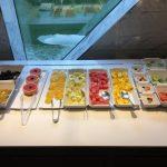 Waterside breakfast buffet