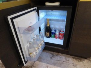 Crystal Suite mini fridge