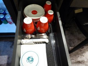 Crystal Suite accessory drawer