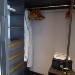 Deluxe Suite walk in closet