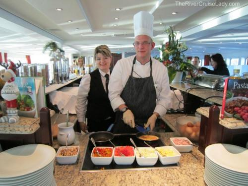 Danube River Cruise Breakfast Chef