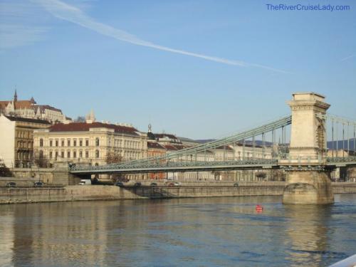 Danube River Cruise Budapest Chain Bridge