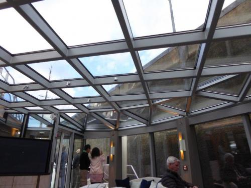 Crystal Lounge Skylights