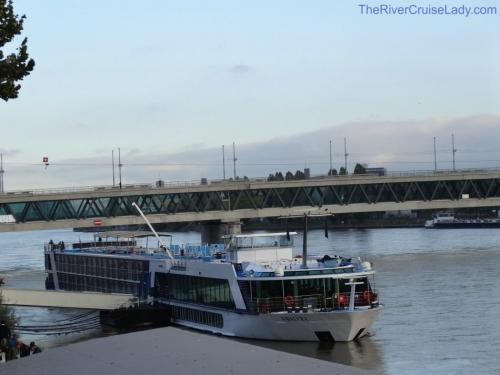 Ama Waterways docked in Basel