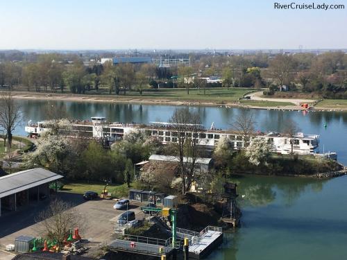 Uniworld Rhine River Cruise Docked