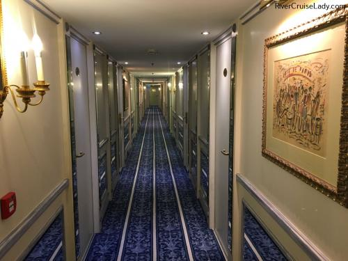Uniworld Rhine River Cruise Hallway